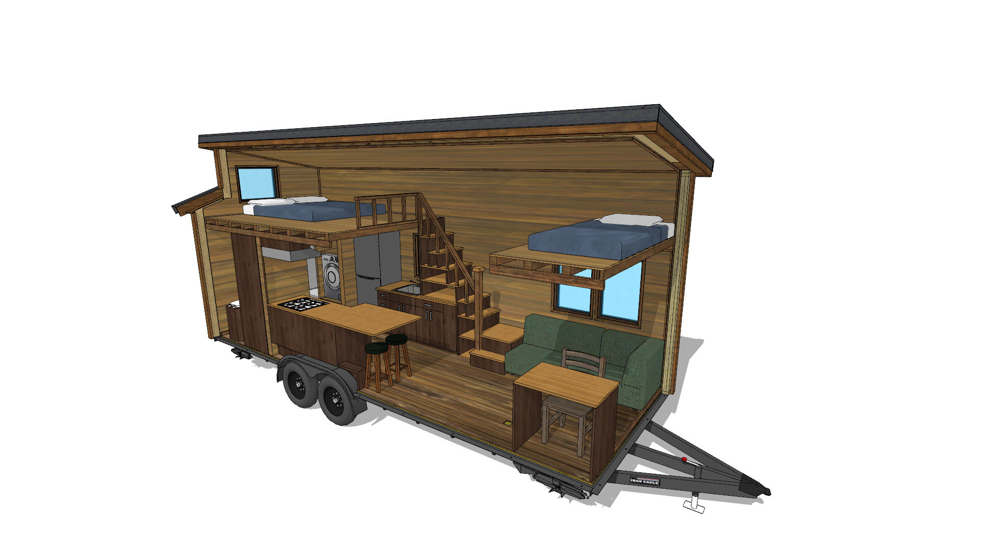 Tiny Home Design: Cider Box Tiny House Plans 40% Off