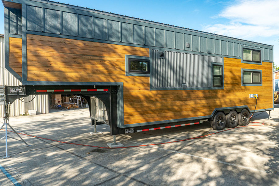 36-foot Wansley Tiny House by Movable Roots