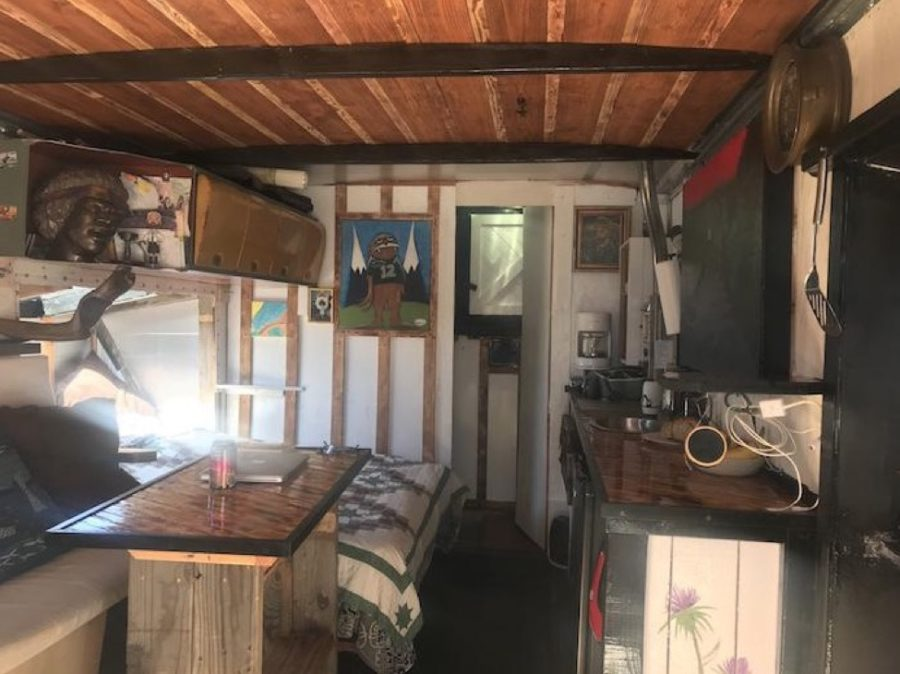 Jay Craigs U Haul Box Truck to Off Grid Tiny House Conversion 002