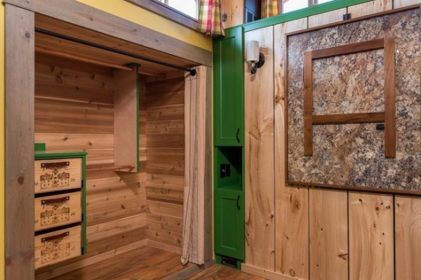 Jerry and Rene Slide Out Tiny House 3