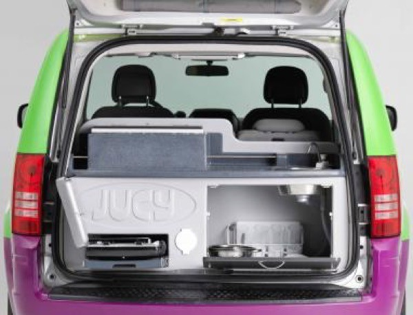 Jucy Dodge Caravan to Motorhome Conversion Camper Mini RV 0021