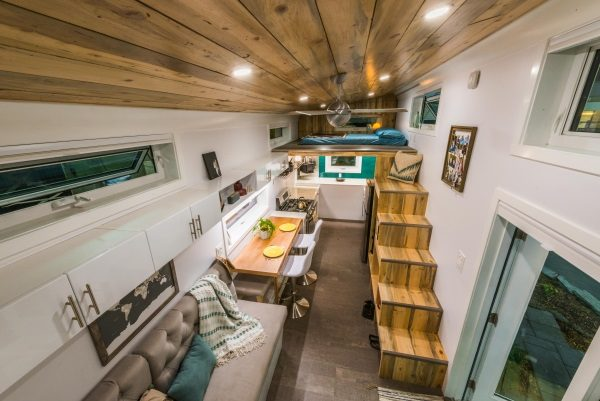 Couple Design and Build the Perfect Off-Grid Tiny Home