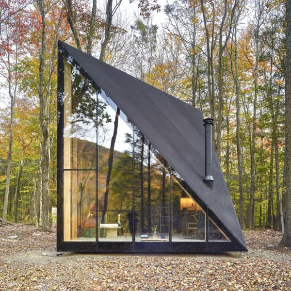 Klein A45 Tiny House A-frame Inspired by Bjarke Ingels Photo by Matthew Carbone 001
