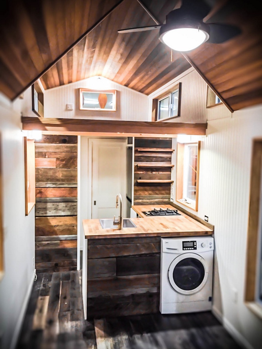Kootenay tiny house on wheels by green leaf tiny homes Tiny little houses on wheels