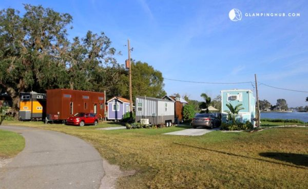 Lakeside Tiny House Vacation Rental in Orlando Tiny House Community 0022
