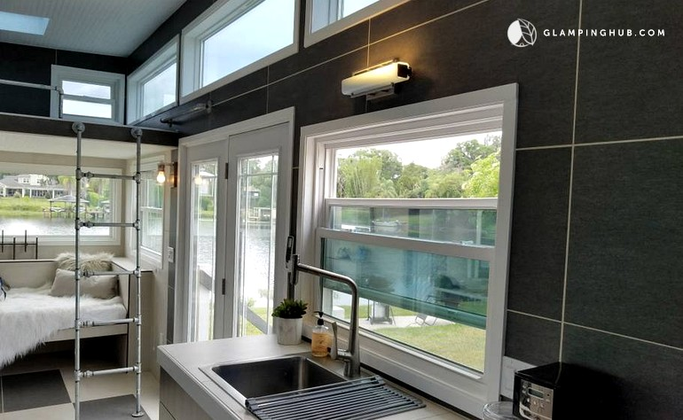 Lakeside Tiny House Vacation Rental in Orlando Tiny House Community