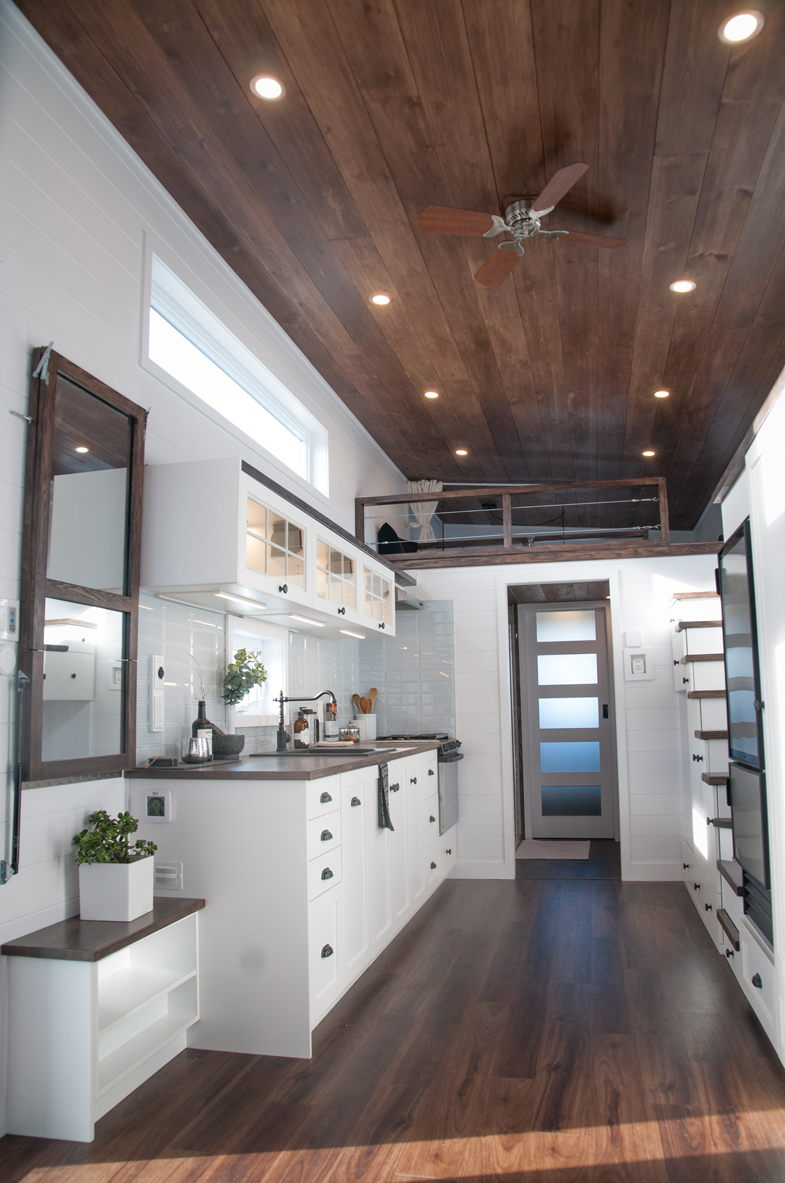 10 Foot Wide Laurier Tiny House With Main Floor Bedroom