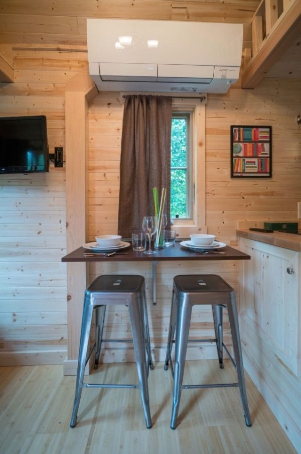 Lincoln Tiny House at Mt Hood Tiny House Village via TinyHouseTalk-com 007