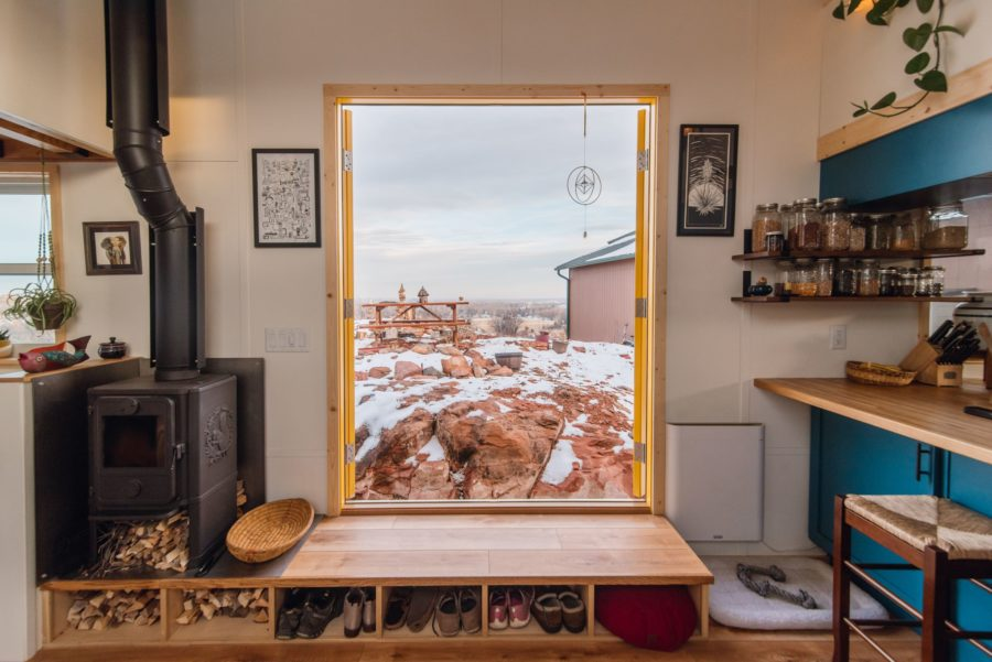 Carrie and Dan's 28′ x 10′ Tiny Home 4