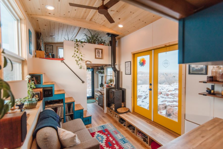 Carrie and Dan's 28′ x 10′ Tiny Home 6