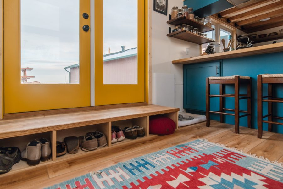 Carrie and Dan's 28′ x 10′ Tiny Home 5
