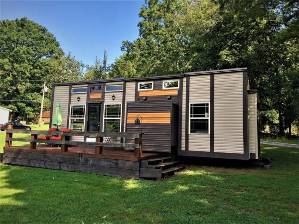 Luxury Tiny House on Wheels with Slide Outs for sale in Knoxville Tennessee 0019