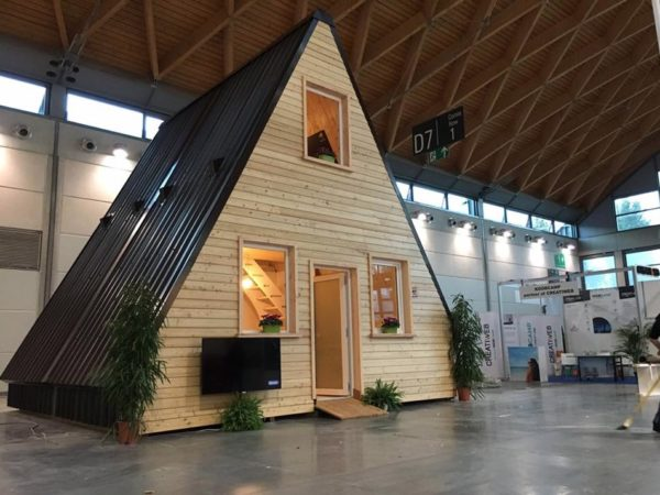 Foldable Prefab A Frame Cabin By Madi In Italy