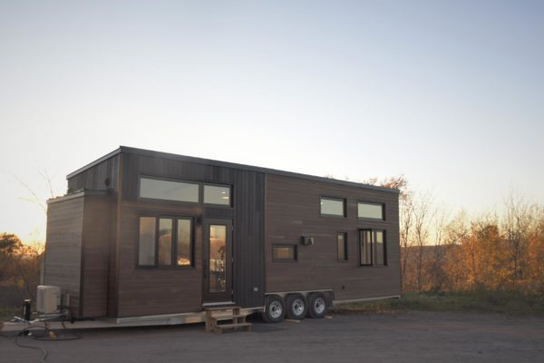 10.5-Feet Wide Magnolia Tiny House on Wheels by Minimaliste