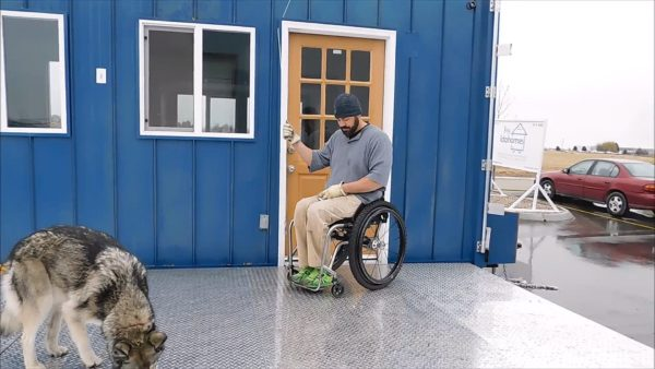Marc's Wheelchair-Friendly Tiny House