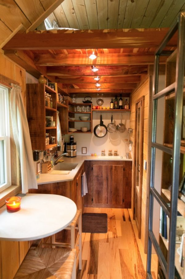 Married Couples Wind River Bungalow Tiny Home on Wheels 005