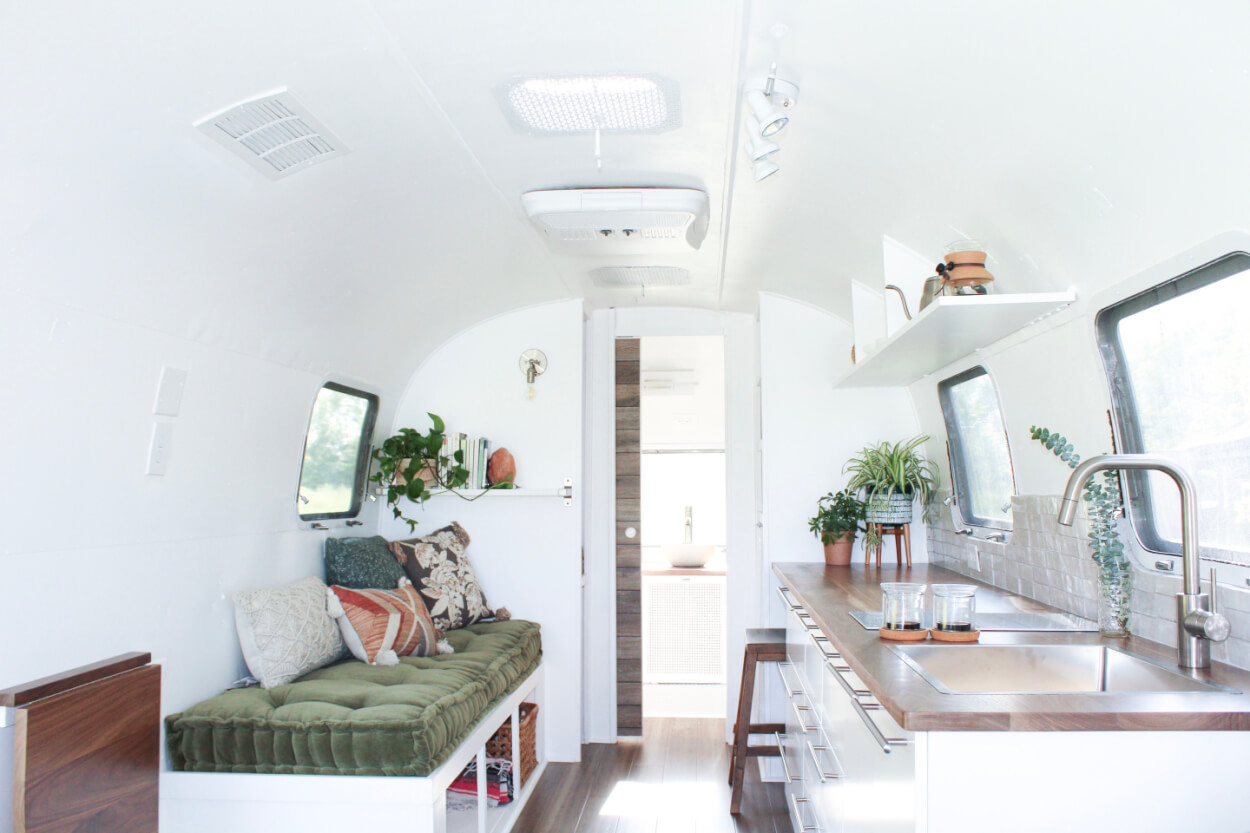 1973 Airstream Trade Wind Land Yacht Remodel W Amazing Interior