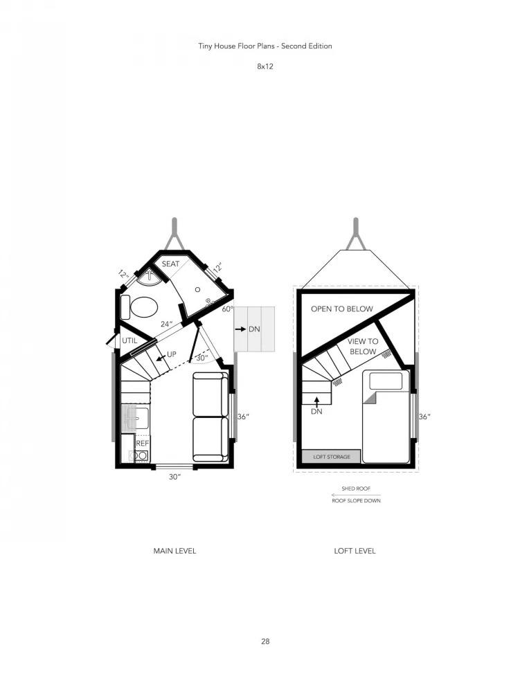 Michael Janzens Tiny House Floor Plans Book 2nd Edition 2021 001