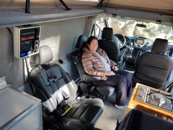 ModVans Ford Transit Conversion Camper Van 0015