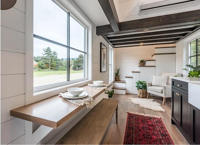 Modern Bohemian tiny house 002
