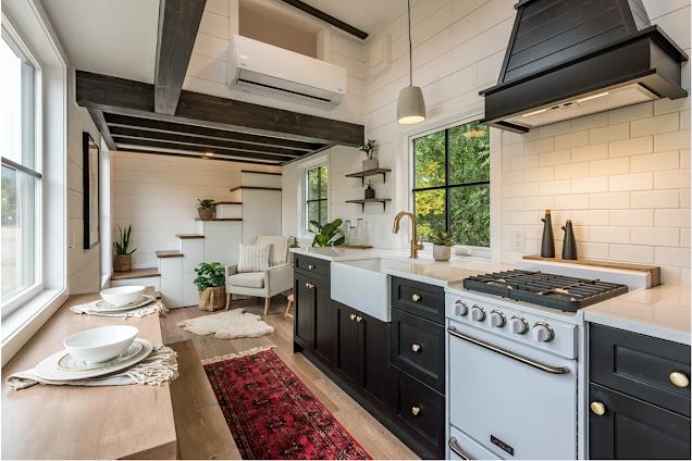 Modern Bohemian tiny house 003