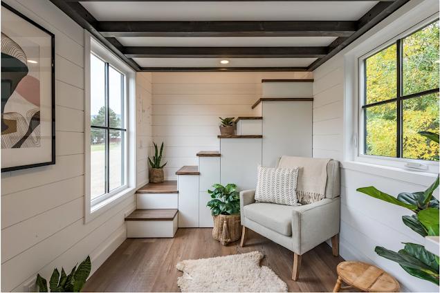Modern Bohemian tiny house 007