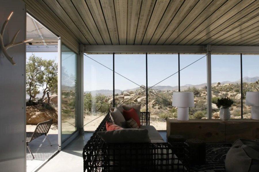 Modern and Off-grid Cabin Pioneertown via Linda-Airbnb 006