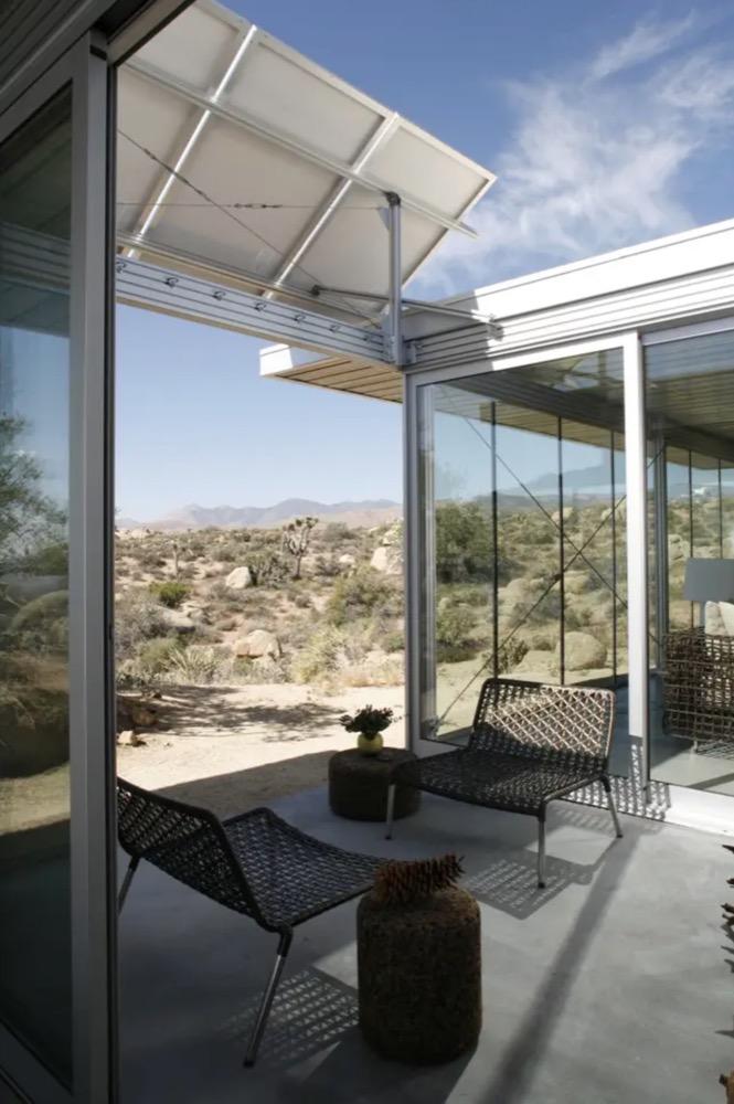 Modern and Off-grid Cabin Pioneertown via Linda-Airbnb 007