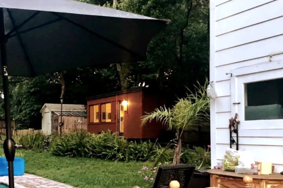 Mount Dora Tiny House Experience Escape Boho Tiny House in Florida via Kathy-Airbnb 001