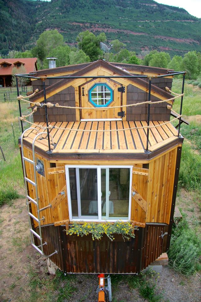 The Nautical Tiny House By Rogue Valley Tiny Home Construction