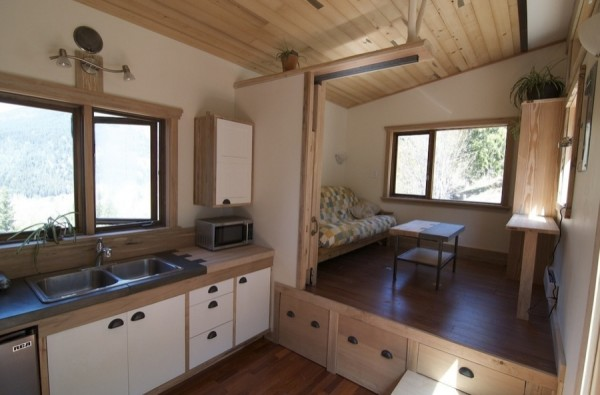 No Loft V House Nelson Tiny House 003