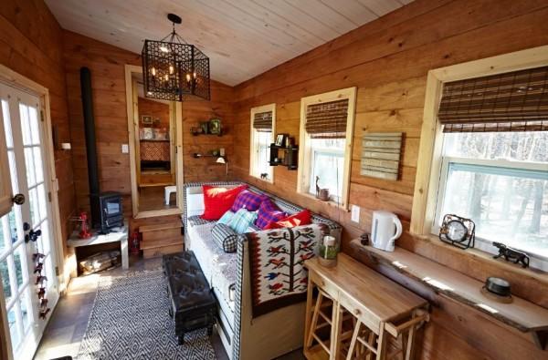 Nomads Nest Tiny House by Wind River Tiny Homes 006