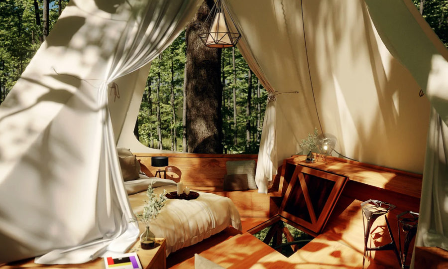 O2 Treewalkers Treehouse: Newest Glamping Option