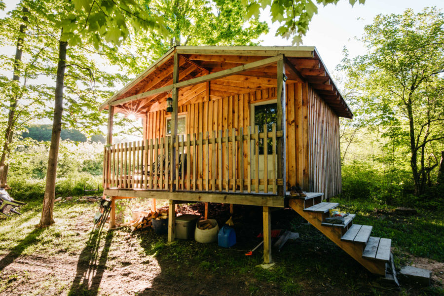 Off-Grid Homestead Cabin on 103 Acres 13