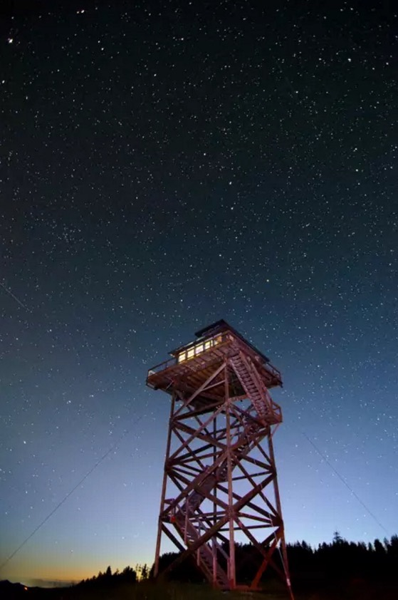 Off Grid Lookout Tower Cabin In Tiller