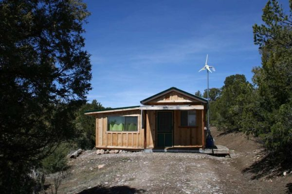 Off grid new mexico cabin on 5 acres for sale for Tiny house zillow