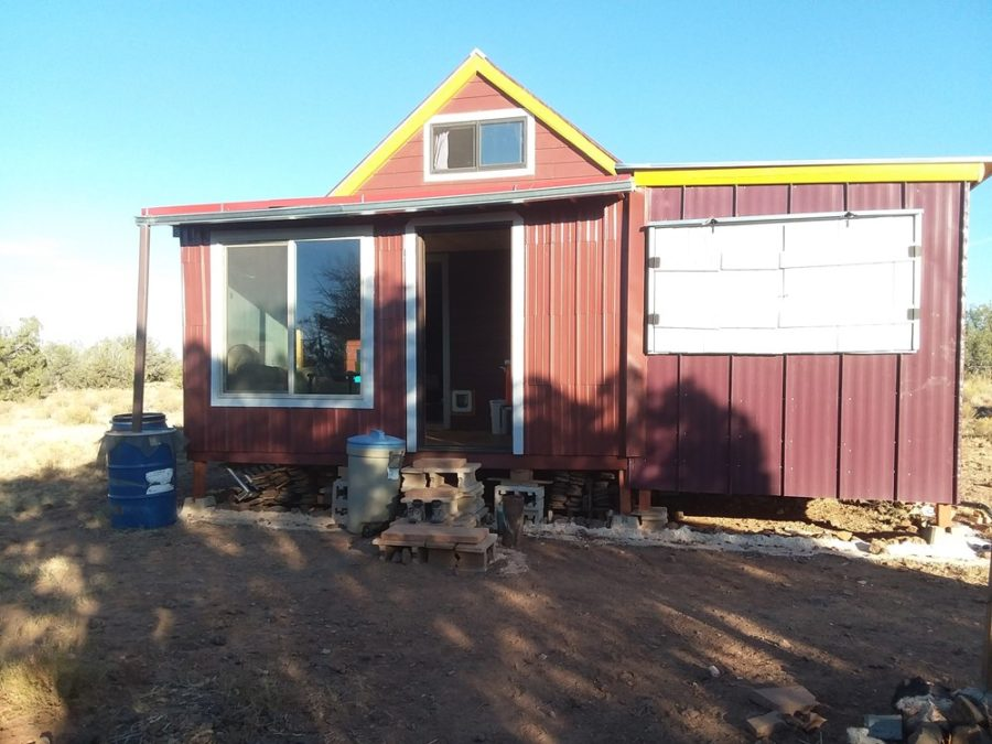Off-Grid Tiny House & 20 Acres For Sale in Arizona $55K 008