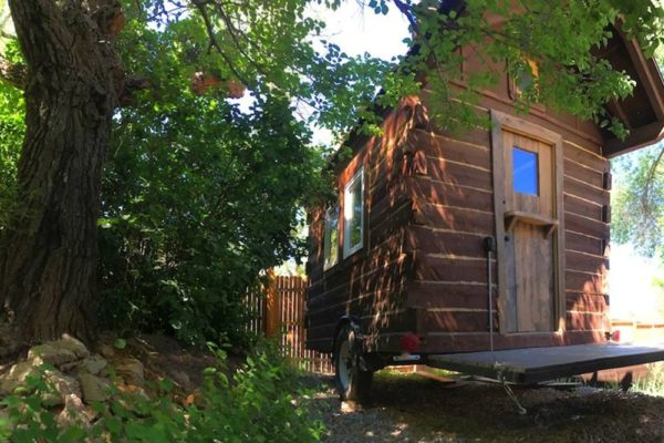 Off-Grid Tiny House with Dutch Doors for 25k
