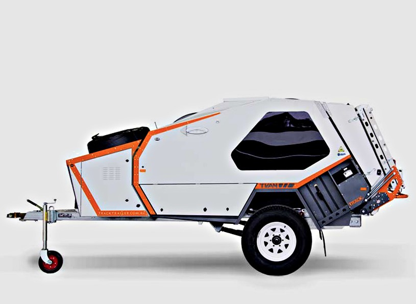 Tvan Camper Trailer Off Road Capable Micro Camper With