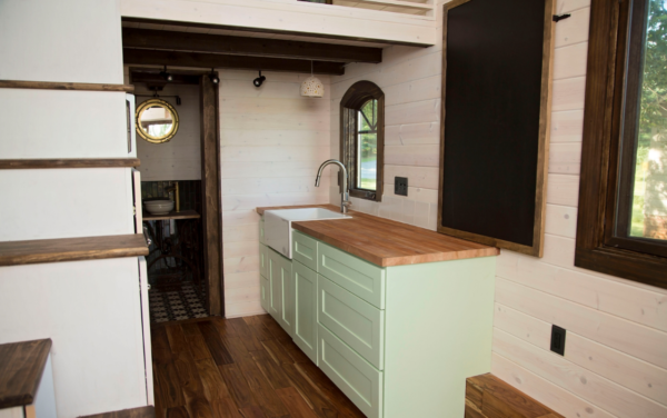 The Old World Vermont Tiny House on Wheels by Perch & Nest