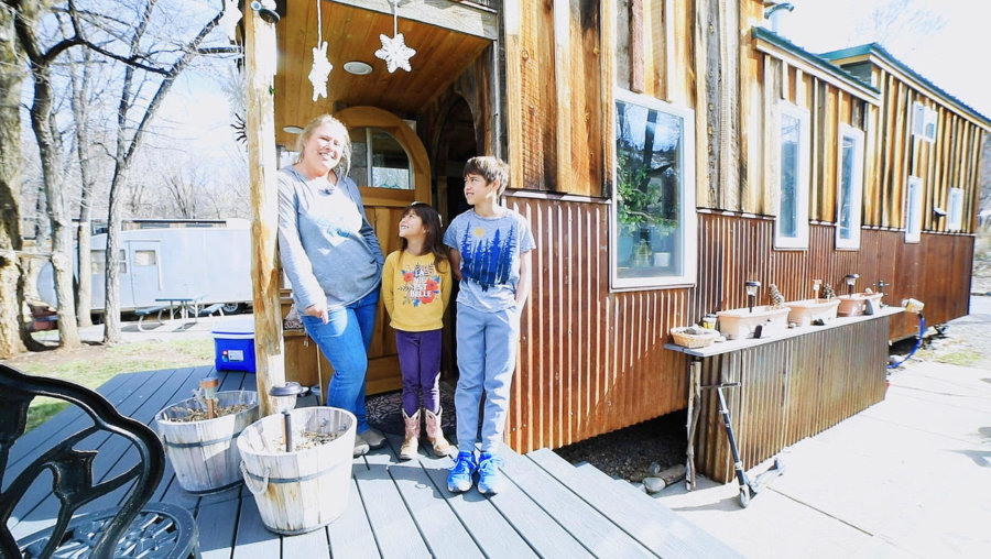 One Mom, Two Kids, Three Years in a Tiny House on Wheels! 2