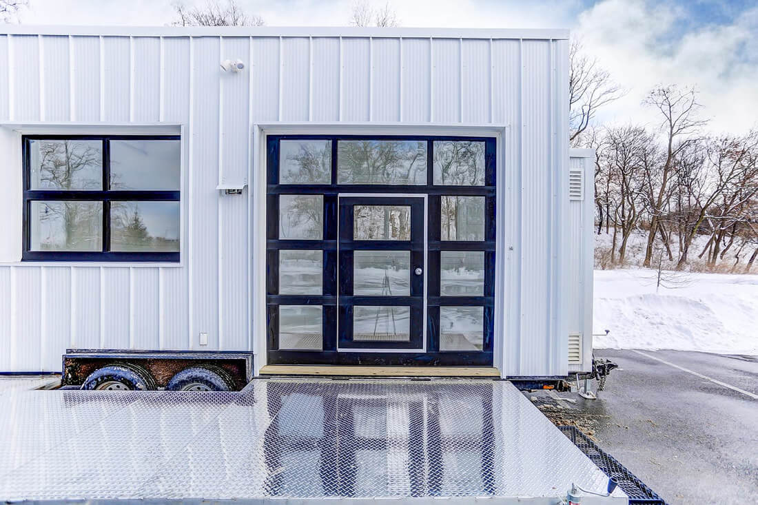 22ft OutCold Tiny House by Modern Tiny Living
