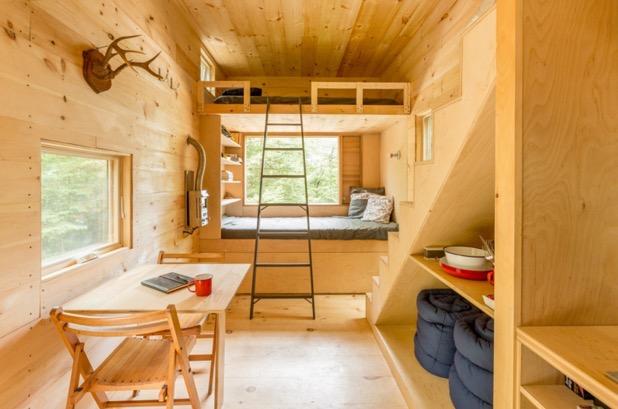 Harvard Designed Tiny Homes: Ovida Tiny House On Wheels In Boston, MA