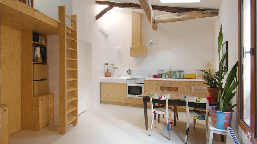 Paris Architect Turns Dingy Apartment into Gorgeous Minimalist Space 8