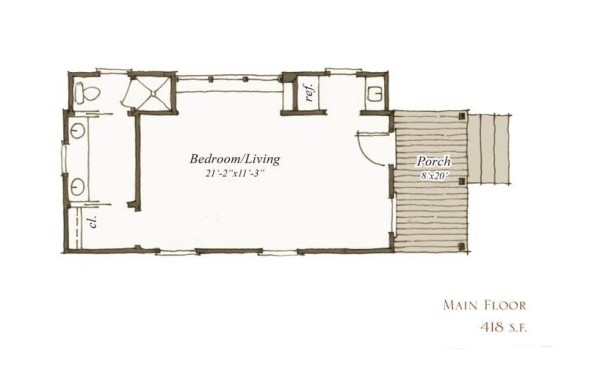 small house floorplan