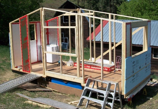 Smart Framing A Lightweight Tiny House In Canada