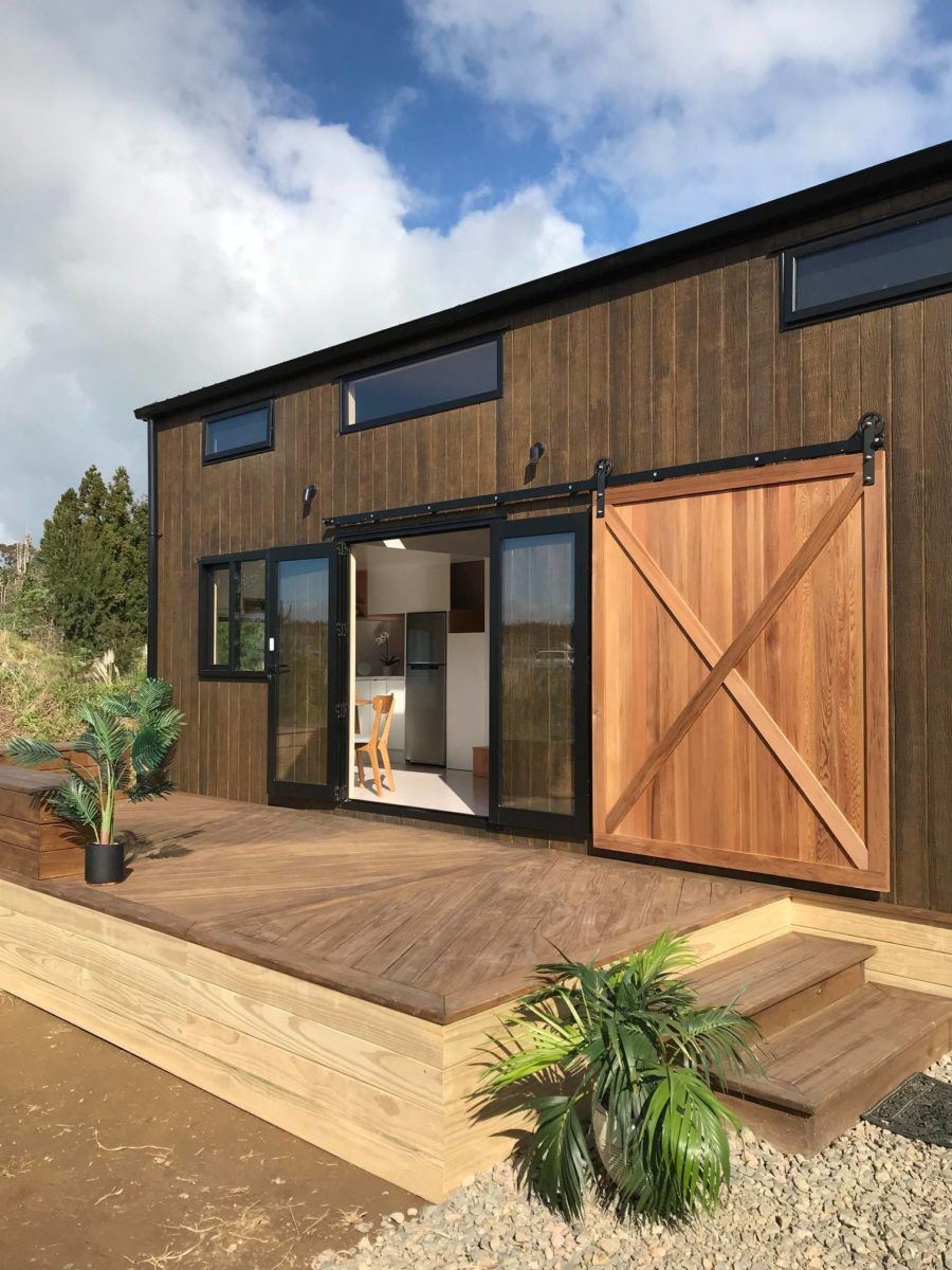 Pohutukawa Tiny House via Tiny House Builders Ltd in New Zealand