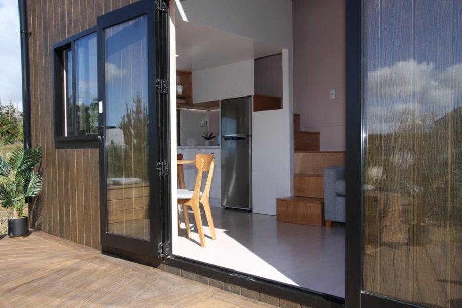 Pohutukawa Tiny House via Tiny House Builders Ltd in New Zealand