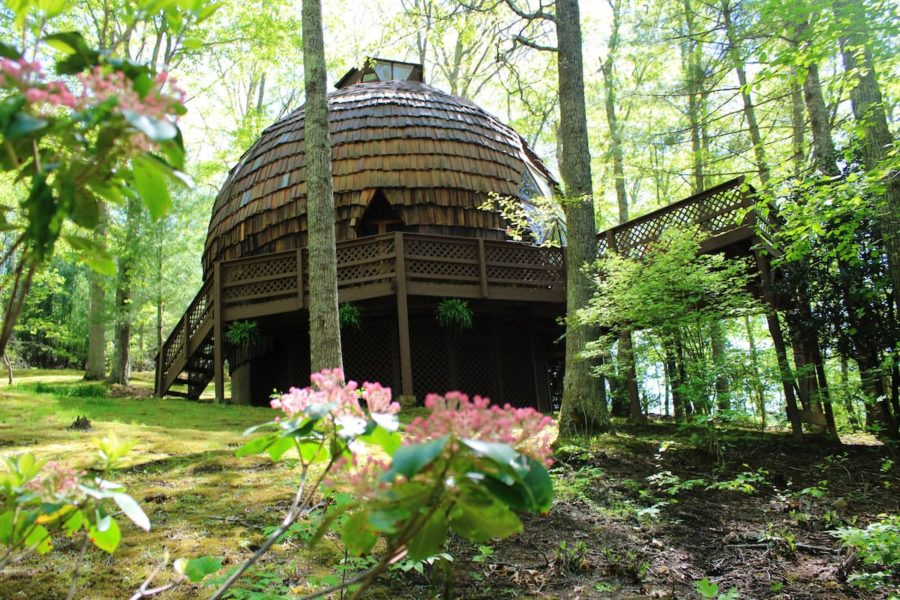 Private Geodesic Dome On 40 Acres With Hot Tub & Pond 99
