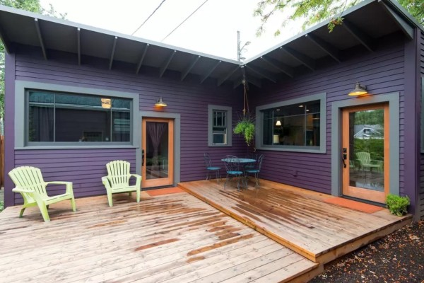 Purple Tiny Cottage in Portland 0015